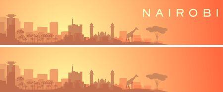 Nairobi Beautiful Skyline Scenery Banner
