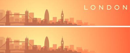London Beautiful Skyline Scenery Banner