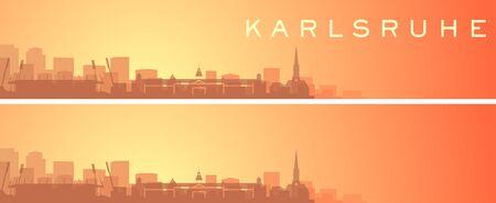 Karlsruhe Beautiful Skyline Scenery Banner