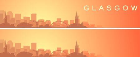 Glasgow Beautiful Skyline Scenery Banner