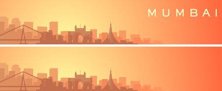 Mumbai Beautiful Skyline Scenery Banner
