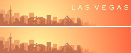 Las Vegas Beautiful Skyline Scenery Banner