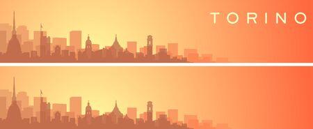 Turin Beautiful Skyline Scenery Banner