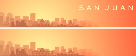 San Juan Beautiful Skyline Scenery Banner