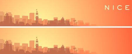 Nice Beautiful Skyline Scenery Banner