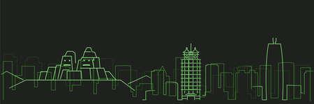Zhengzhou Futurist Technology Light Trace Skyline