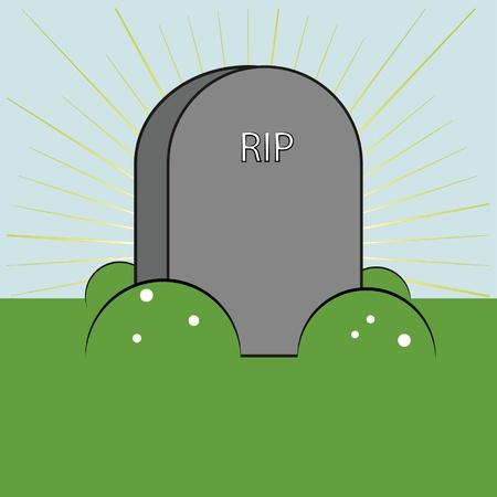 farewell: stone of farewell Illustration