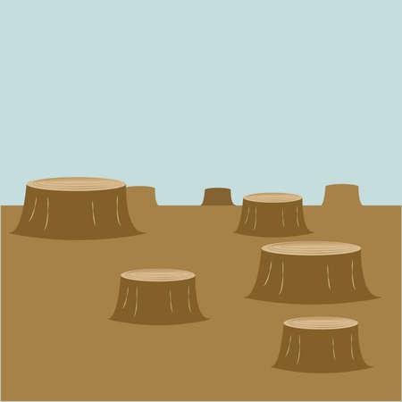 felling: indiscriminate felling