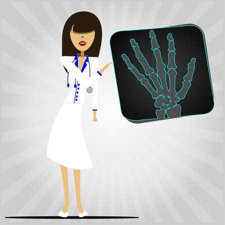 health x-rays Ilustração