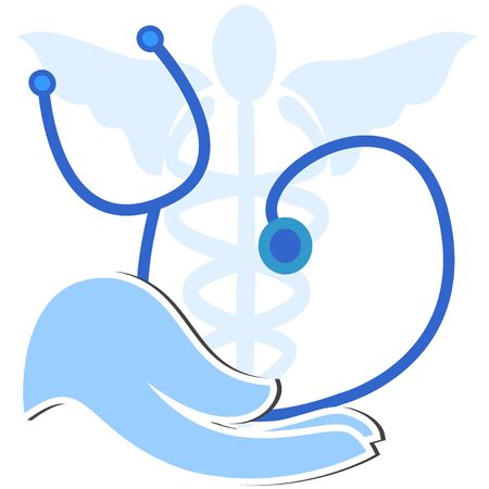 medicina saludable Ilustración de vector