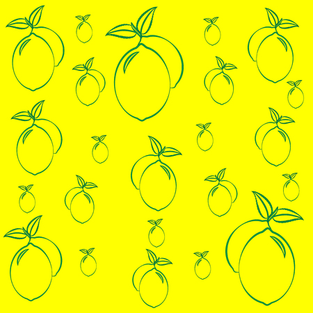 complement: pattern of lemons