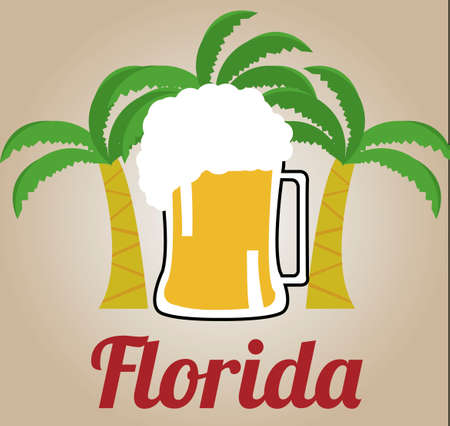 welcome to florida clipart. welcome to florida illustration over color background clipart r