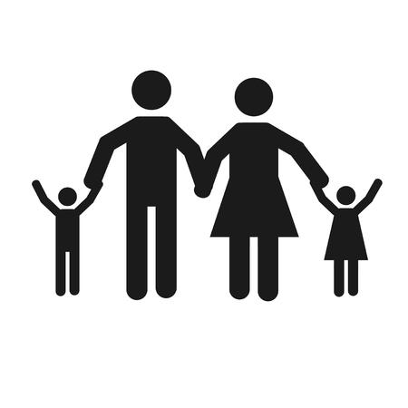 displaced: refugees illustration over white color background