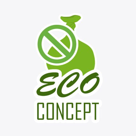 cleaning planet: eco concept illustration