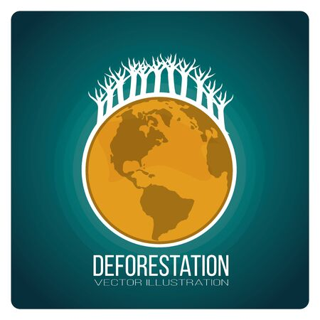 deforestation: landscape deforestation design