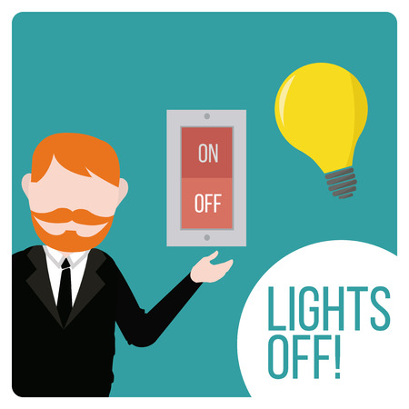 redhair: lights off design switch and devices