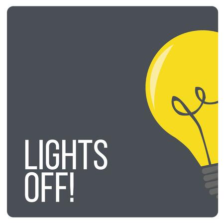 lichten uit ontwerp switch en toestellen