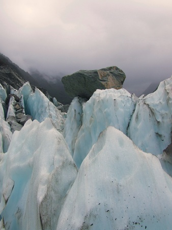 Franz Joseph Glacier in New Zealand