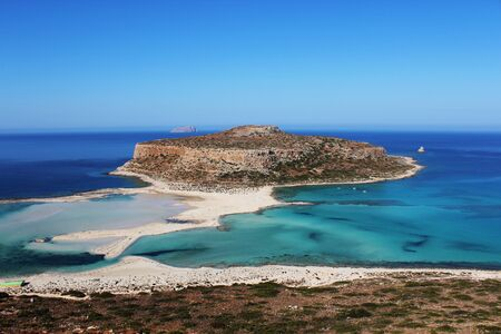 Balos Lagoon Crete Stock Photo - 16759453