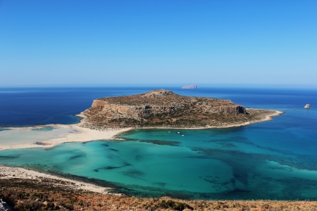 Balos Lagoon Crete Stock Photo - 16759452