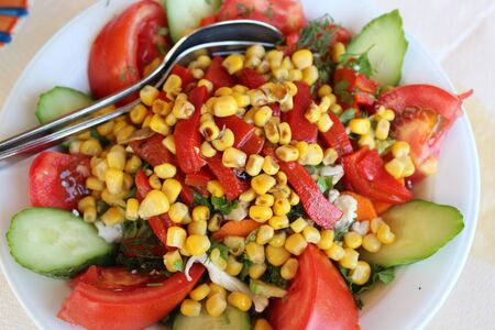 Greek salad Stock Photo - 16759450