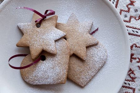 Various shaped cookies  photo