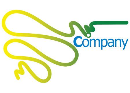 Logo Company Illustration