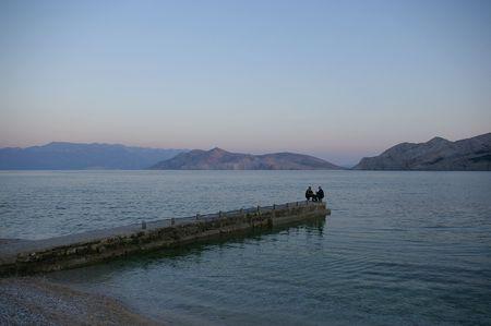 Tramonto a Baska, Krk (Croazia)