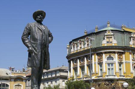 Ivan PL. Zaic, Fiume (Croazia) Stock Photo