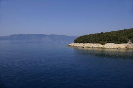 In navigazione verso Lussino, Croazia