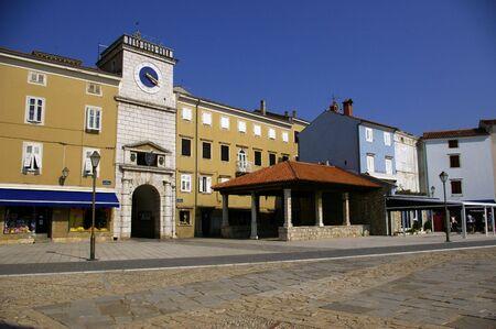 Piazza di Losinj, Lussino (Croazia)
