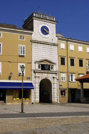 Orologio di Losinj, Lussino (Croazia)