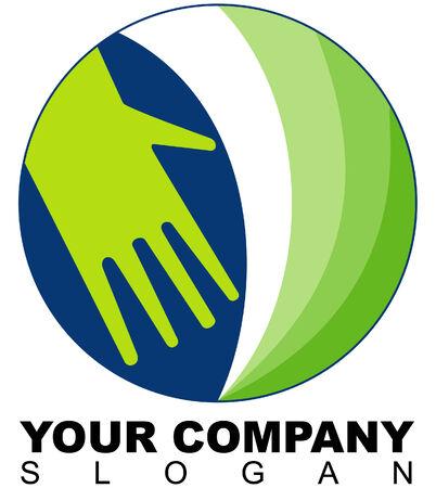 altruismo: Logotipo de la instituci�n de solidaridad o similar Vectores