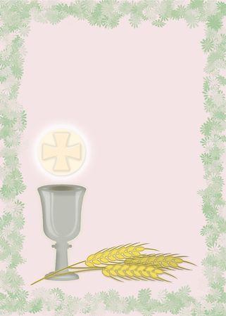 holy communion: Primera Comuni�n