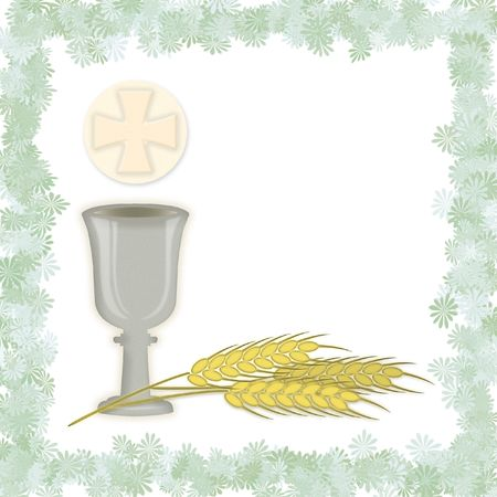 holy eucharist: First Holy Communion