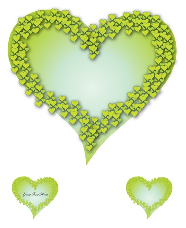 desires: Green heart