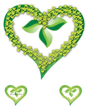 recurrence: Green heart