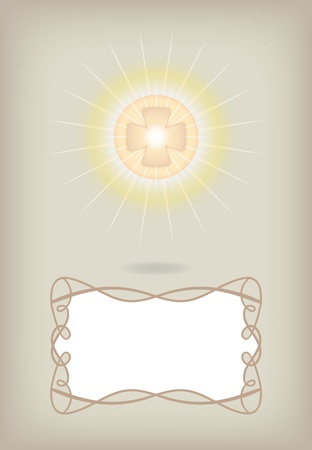 Greeting card for First Communion Stock Vector - 10844096