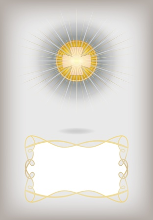 the first communion: Greeting card for First Communion