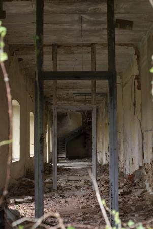 An abandoned old house Banco de Imagens