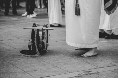 Procession Holy Week Asturias.