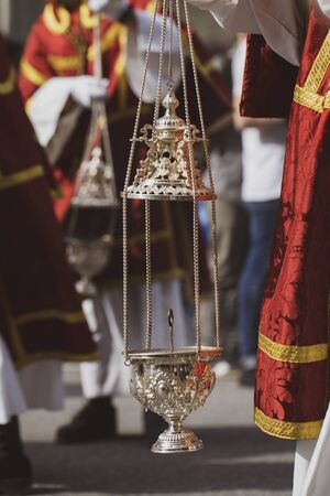 Censer in a procession
