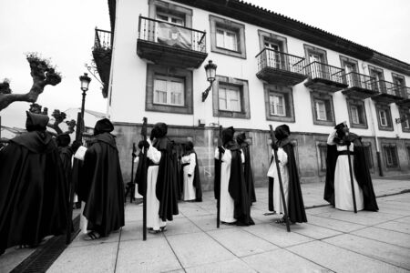Procession Holy Week Asturias.