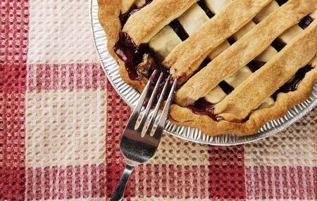 fresh pie with selective focus Stock Photo - 4242074