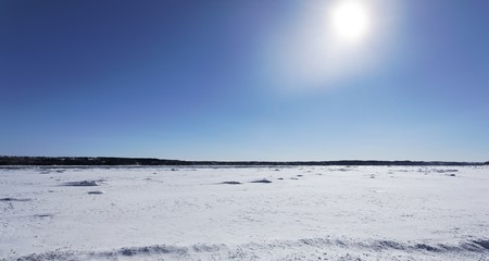 sunny landscape during the winter Stock Photo - 4388416