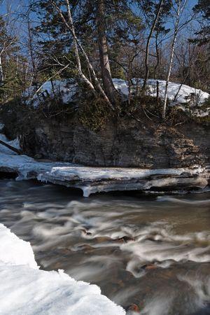 long expose suring the spring near a river Stock Photo - 4560961
