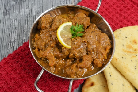 Curry & Naan Stock Photo - 10772383