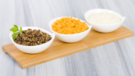 Haggis, Neeps  Tatties - Traditional Scottish meal commonly served at Burns Night.