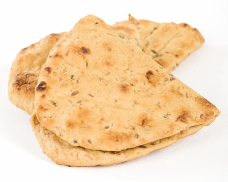 middle eastern: Flatbread - Middle Eastern multi seeded flatbread