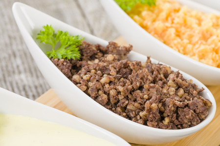 burns night: Haggis, Neeps  Tatties - Traditional Scottish meal commonly served at Burns Night.